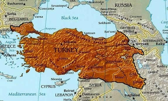Turkey expansion in the middle east